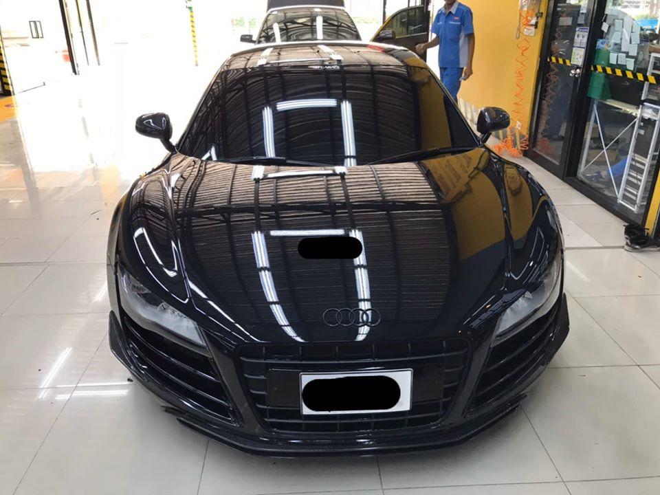 ซ่อมแอร์รถยนต์ AudiR8