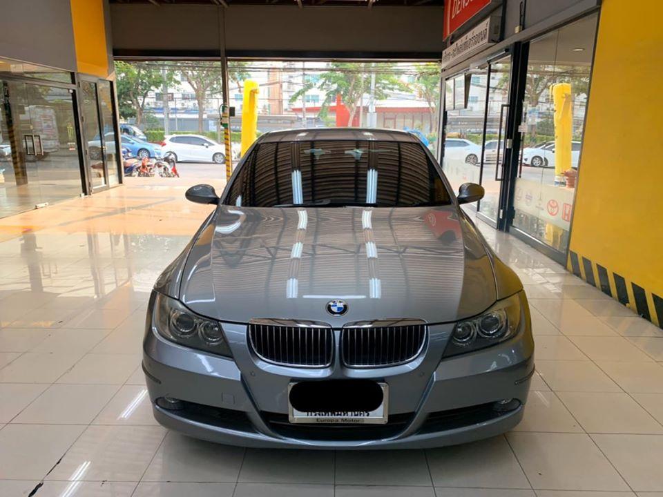 ซ่อมแอร์รถยนต์ BMWE90