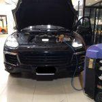 ซ่อมแอร์รถยนต์ PorscheHybrid