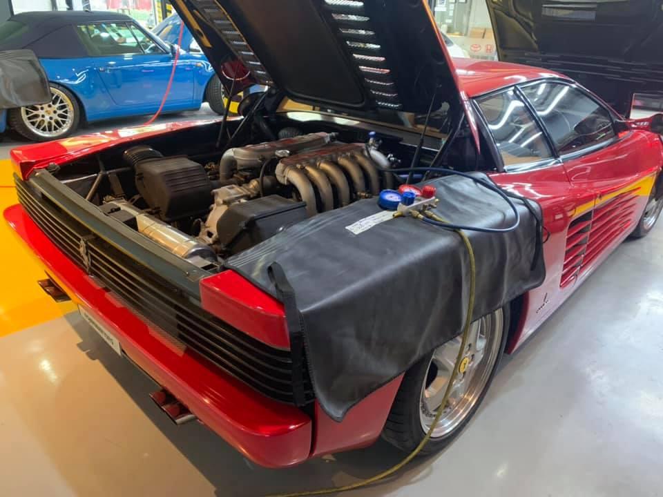 ซ่อมแอร์รถยนต์เฟอรารี่Ferrari