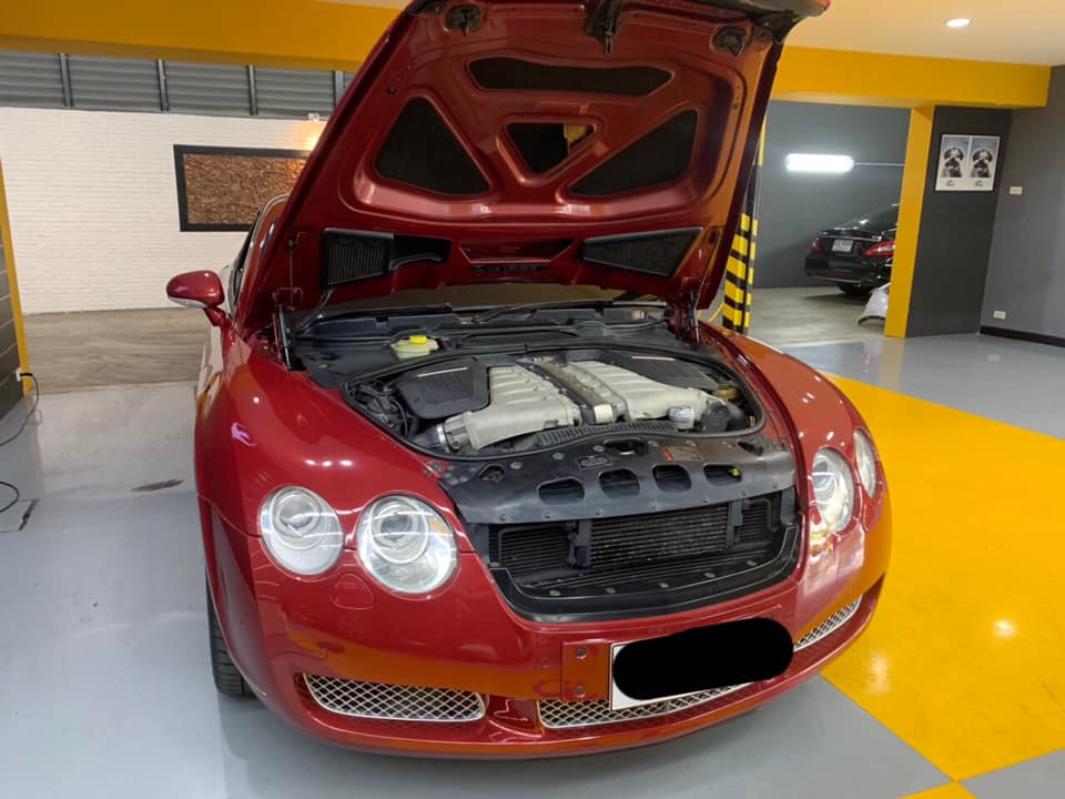 ซ่อมแอร์รถยนต์ Bentley