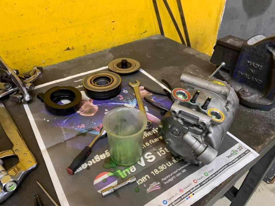 ซ่อมแอร์รถยนต์ Ford Focus