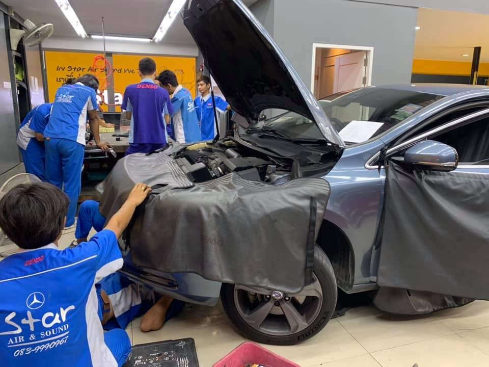 ซ่อมแอร์รถยนต์ VolvoV40