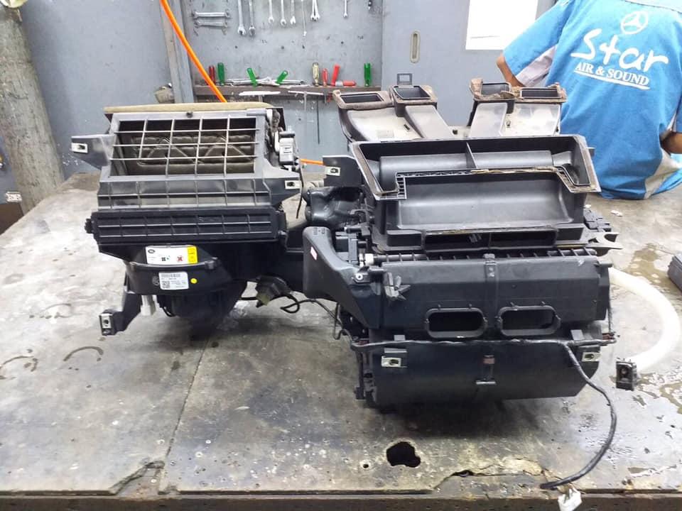 ซ่อมแอร์รถยนต์ LandRoverDiscovery3