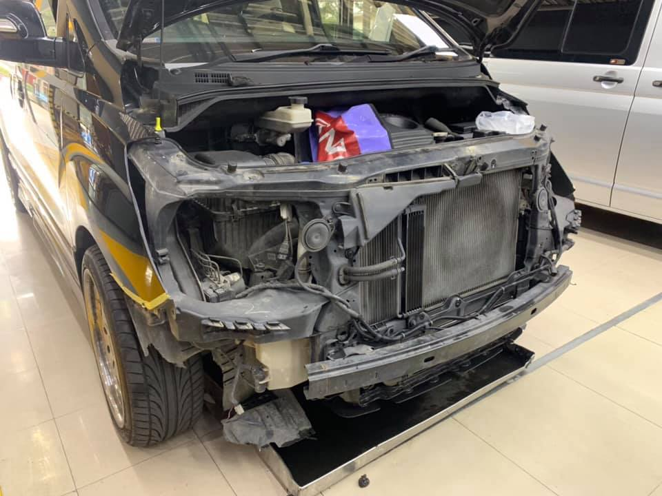 ซ่อมแอร์รถยนต์ HyundaiH1
