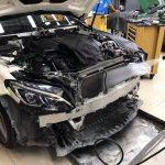 ซ่อมแอร์รถยนต์ BenzC-Class