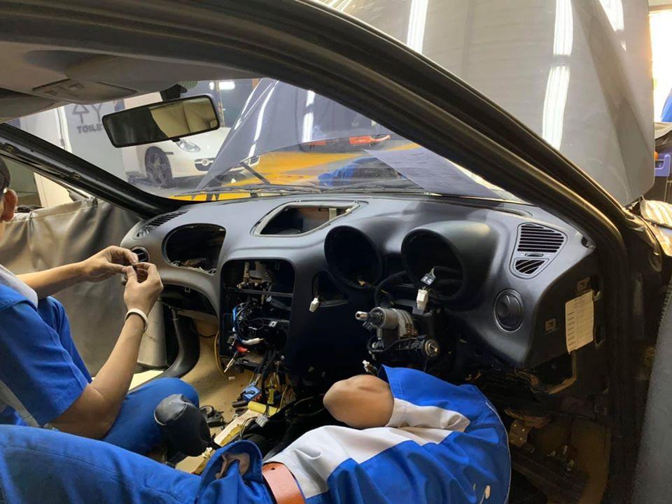ซ่อมแอร์รถยนต์ Alfa156