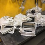 ซ่อมแอร์รถยนต์ Alphard (สีขาว)