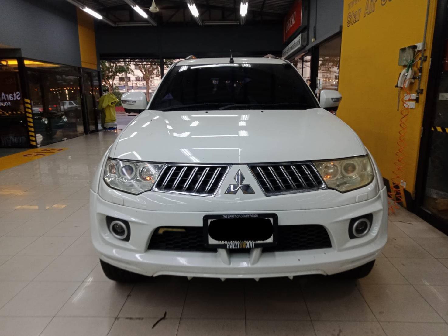 ซ่อมแอร์รถยนต์ Mitsubishi Pajero