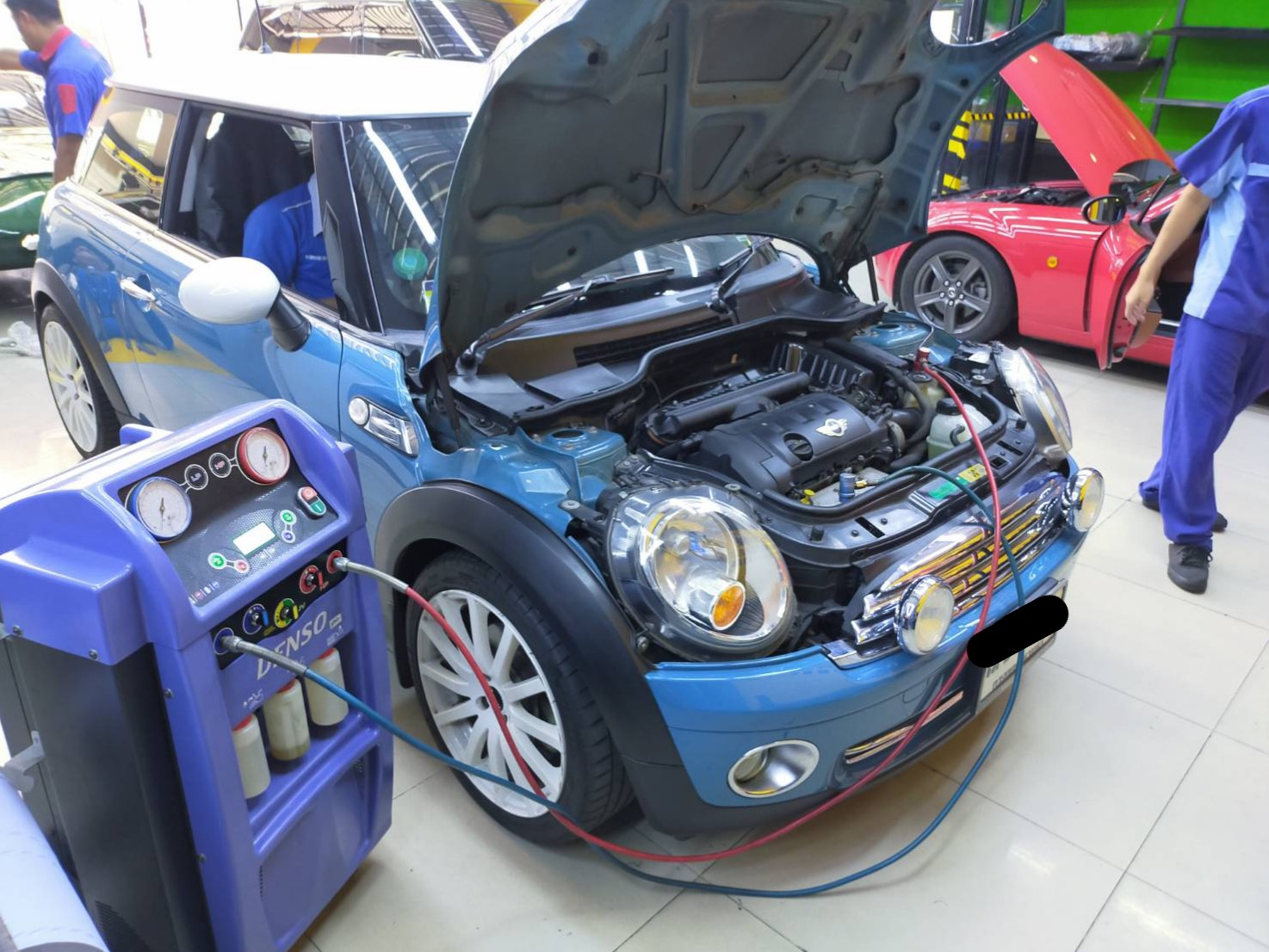ซ่อมแอร์รถยนต์ MINI